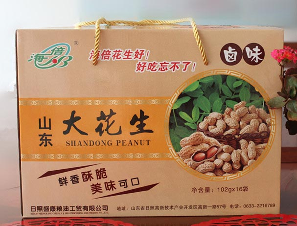 花生果礼盒 ROASTED PEANUTS GIFT BOX102g×16袋